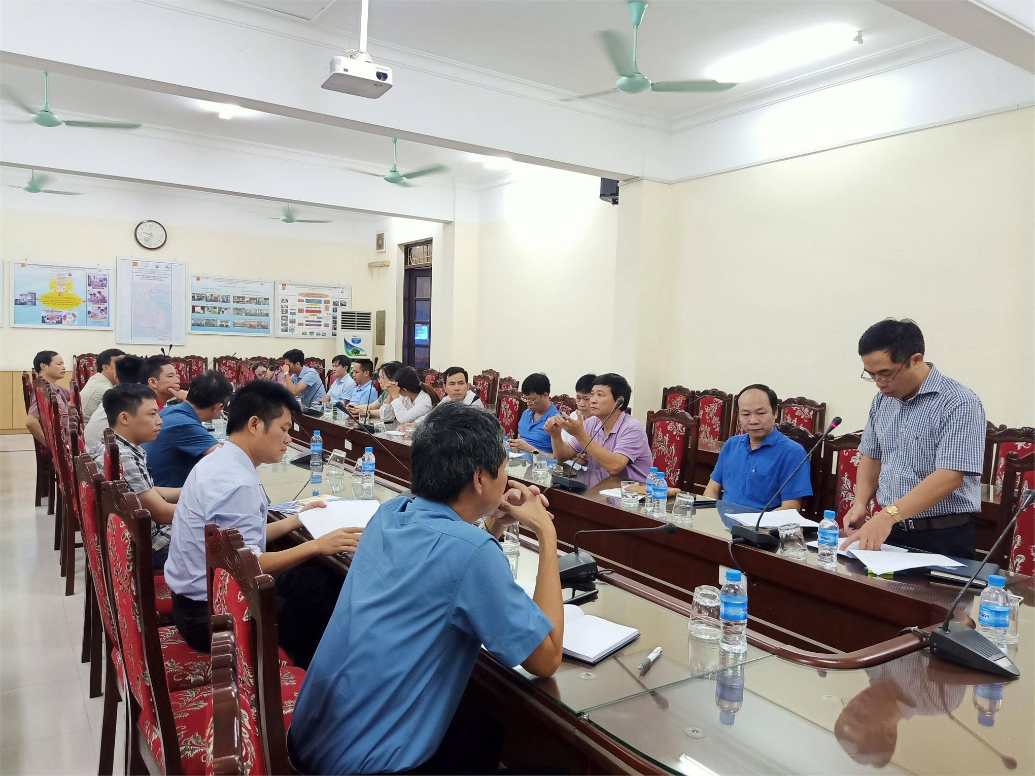 Hội nghị bình xét thi đua năm học 2018 - 2019