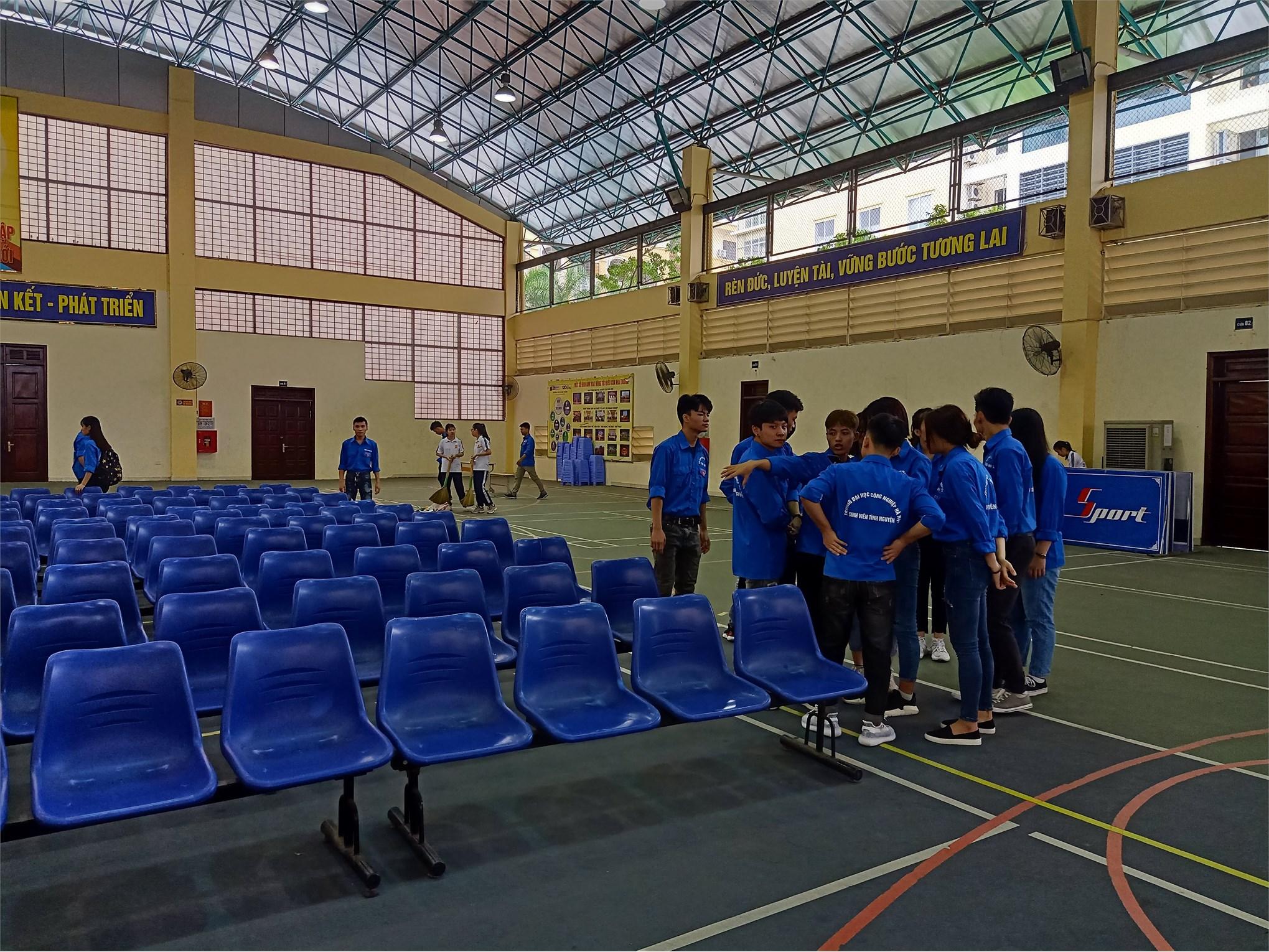 Sẵn sàng cho ngày hội nhập học năm 2019 của hệ cao đẳng K21