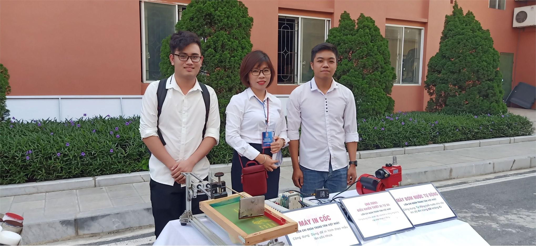 Đoàn đại biểu Liên chi đoàn Trung tâm Việt Nhật dự Đại hội đại biểu Đoàn TNCS Hồ Chí Minh trường Đại học Công nghiệp Hà Nội lần thứ IX, nhiệm kỳ 2019 – 2022