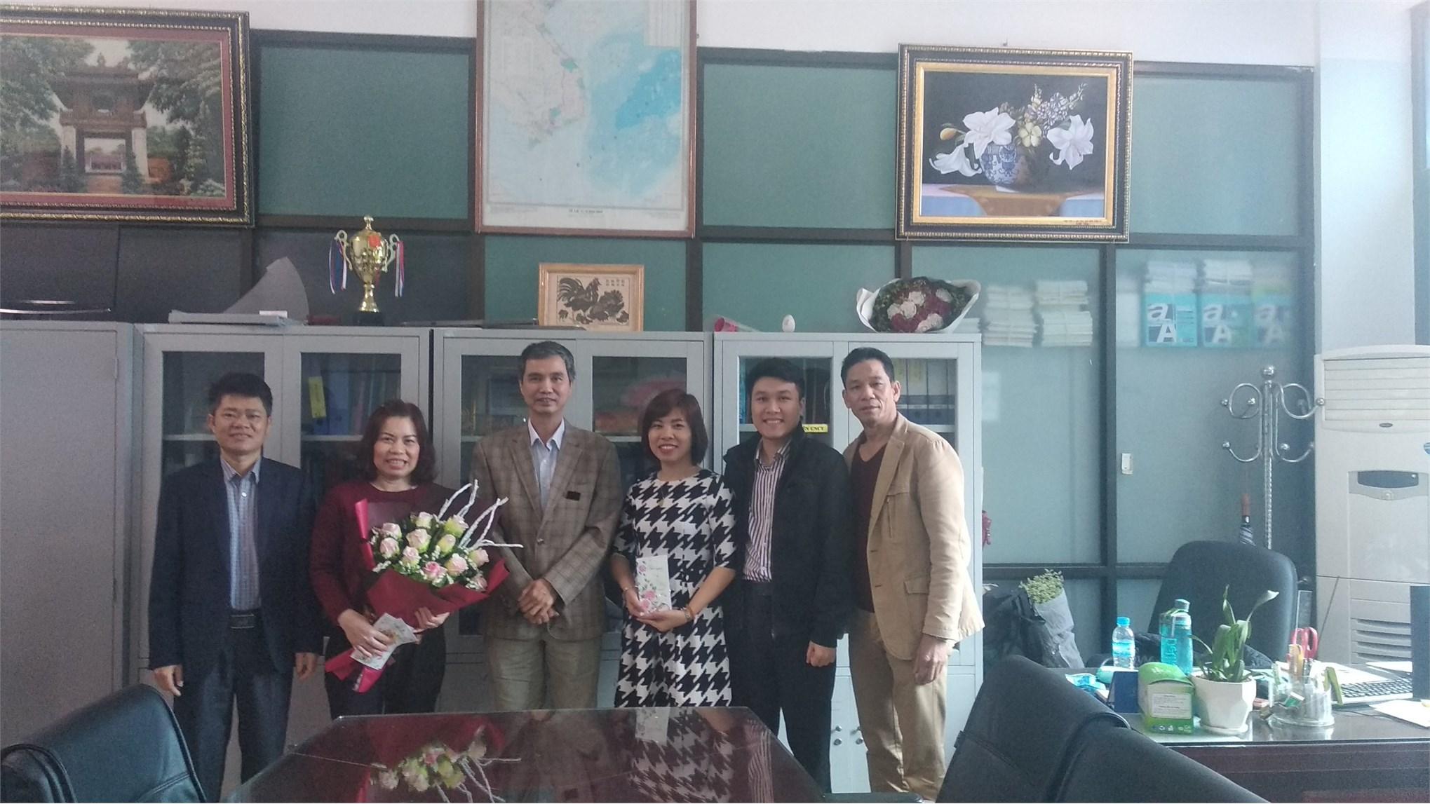Công đoàn TT Việt Nhật chào mừng Quốc tế phụ nữ 08/03