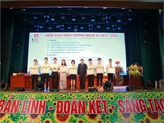 Liên chi đoàn Trung tâm Việt Nhật vinh dự nhận bằng khen của Thành đoàn Hà Nội