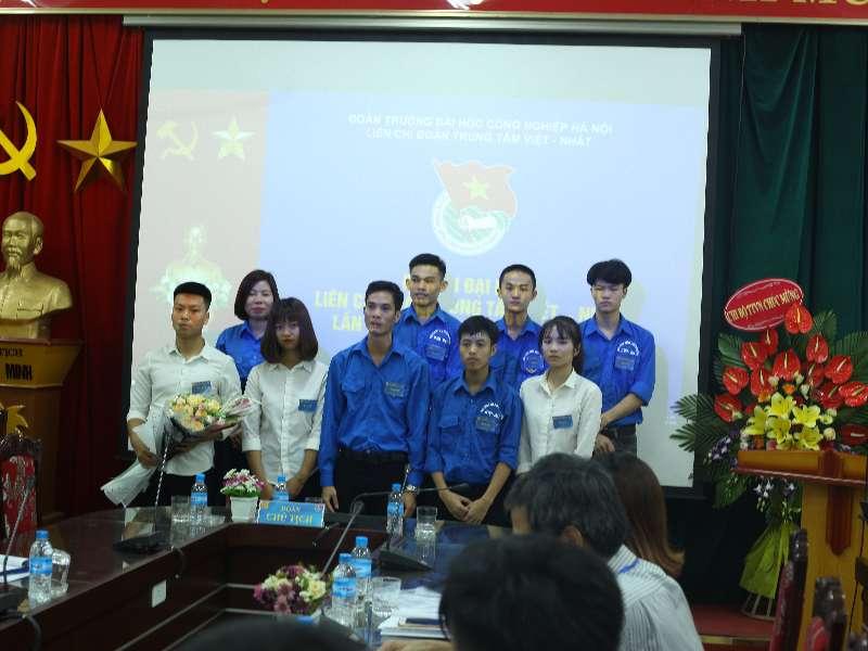 Đại hội Đại biểu Liên chi đoàn Trung tâm Việt Nhật lần thứ IX, nhiệm kỳ 2019-2022