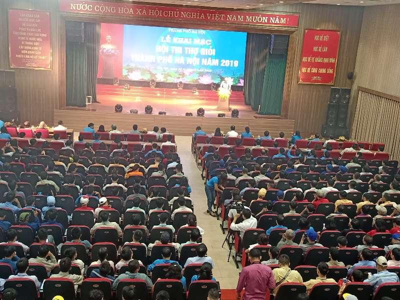 Trung tâm Việt Nhật tổ chức thi 7 nghề tại Hội thi thợ giỏi thành phố Hà Nội năm 2019