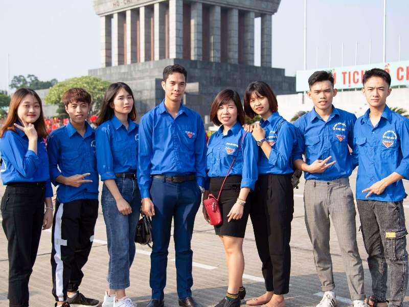 Liên chi đoàn TT Việt Nhật tham gia chương trình Lễ báo công do Đoàn thanh niên - Hội sinh viên tổ chức
